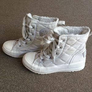 All Star Converse Rubber Shoe High cut Lace up